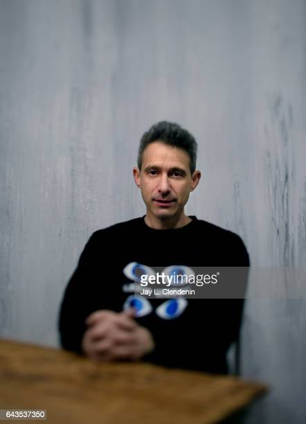 Adam Horowitz from the film Golden Exits is photographed at the 2017 Sundance Film Festival for Los Angeles Times on January 22 2017 in Park City...