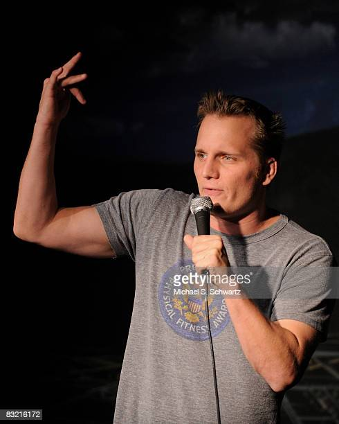 Adam Hunter performs at the Ice House Comedy Club on October 9 2008 in Pasadena California