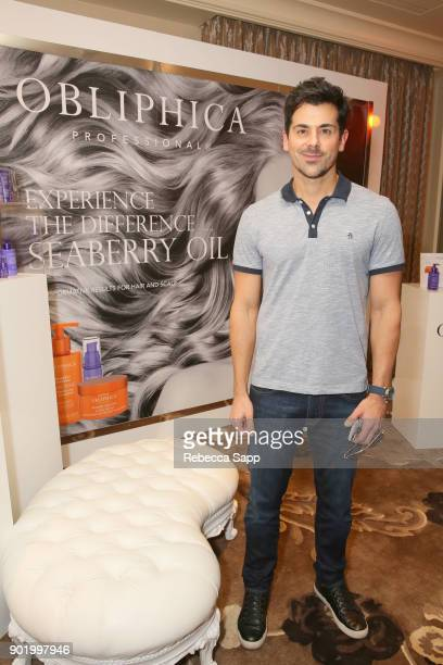 Adam Huss attends the HBO LUXURY LOUNGE presented by ANCESTRY on January 6 2018 in Beverly Hills California