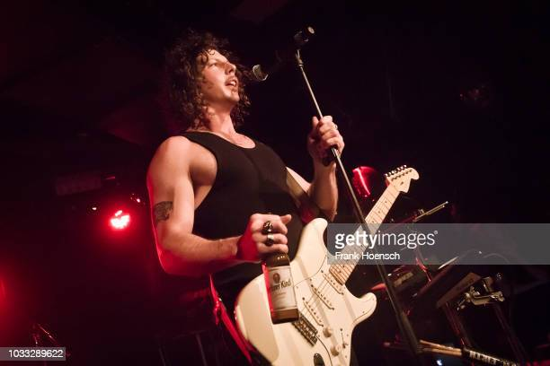 Adam Hyde of the Australian band Peking Duk performs live on stage during a concert at the Musik und Frieden on September 14 2018 in Berlin Germany