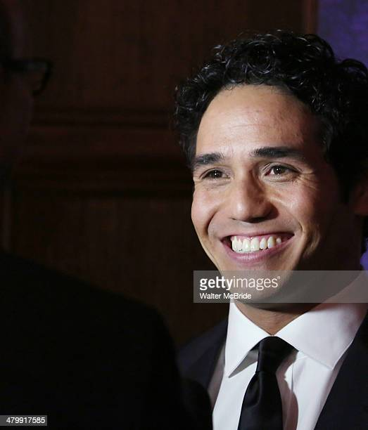 Adam Jacobs attends the 'Aladdin' On Broadway Opening Night after party at Gotham Hall on March 20 2014 in New York City