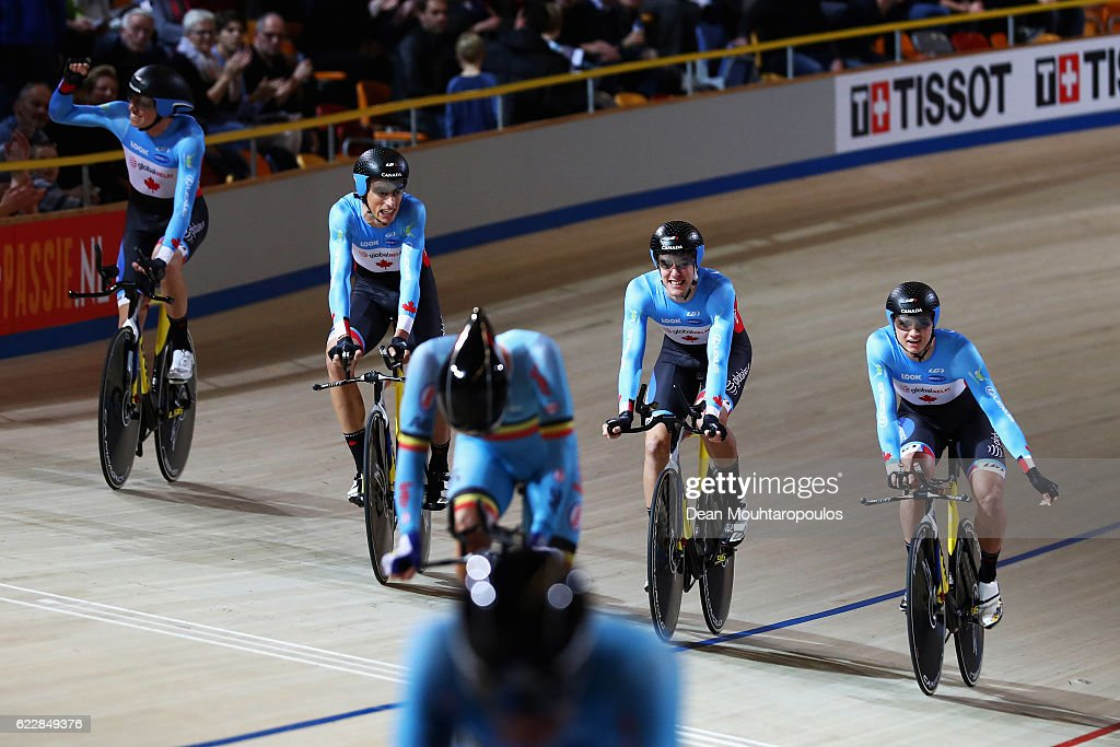 UCI Track Cycling World Cup - Apeldoorn : News Photo