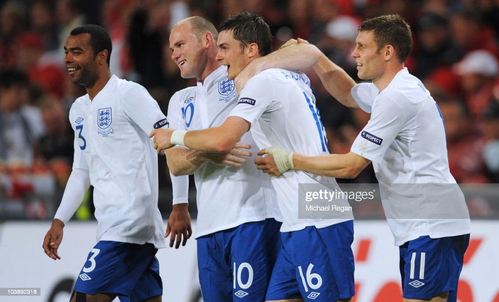 Switzerland v England - EURO 2012 Qualifier