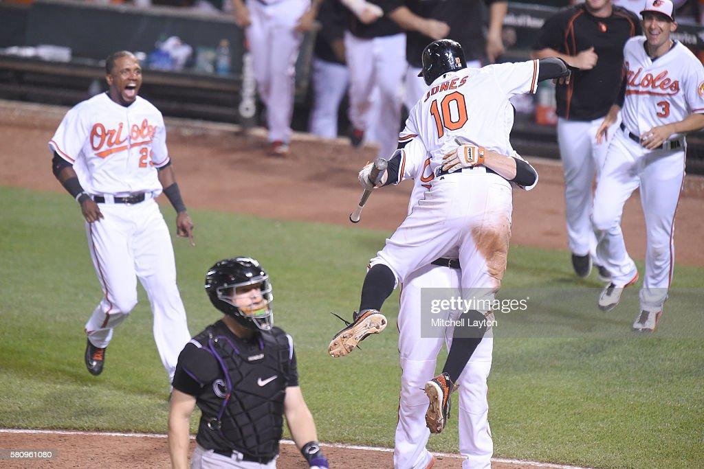 Colorado Rockies v Baltimore Orioles : News Photo