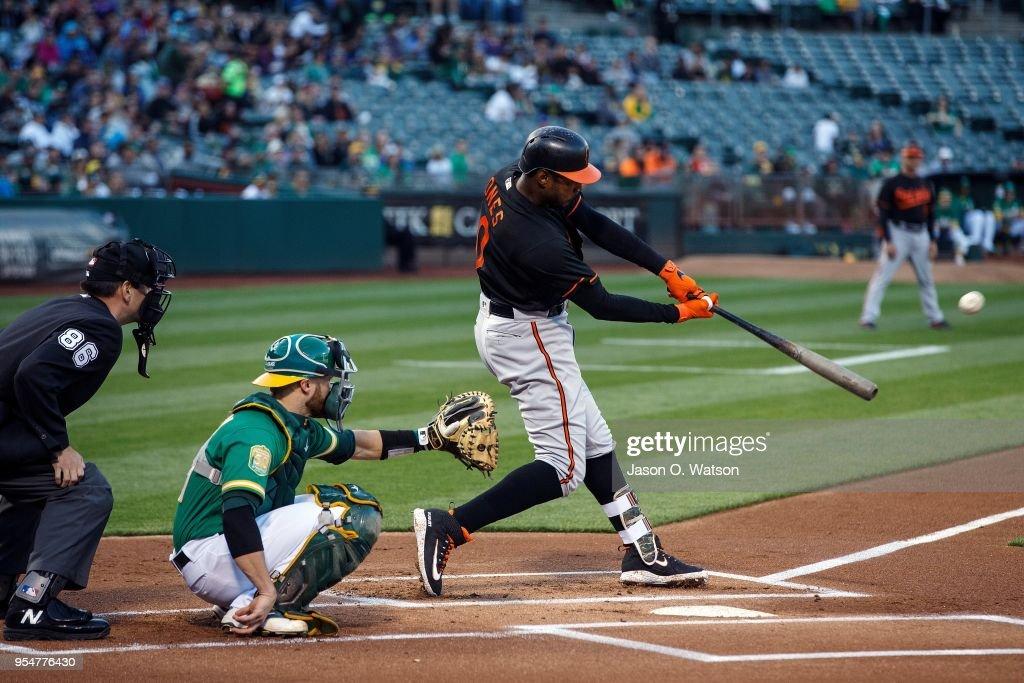 Baltimore Orioles v Oakland Athletics : News Photo