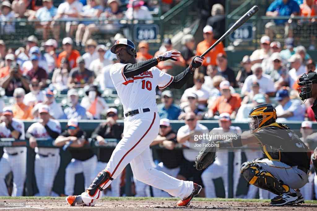 Pittsburgh Pirates v Baltimore Orioles : News Photo