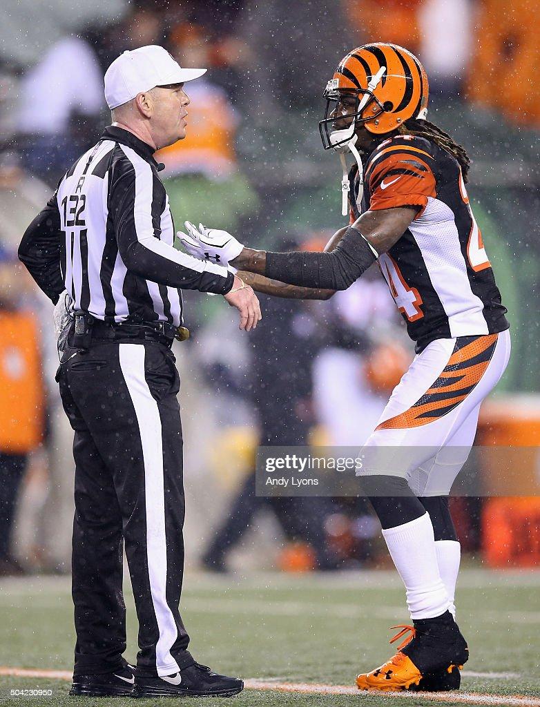 Wild Card Round - Pittsburgh Steelers v Cincinnati Bengals : News Photo