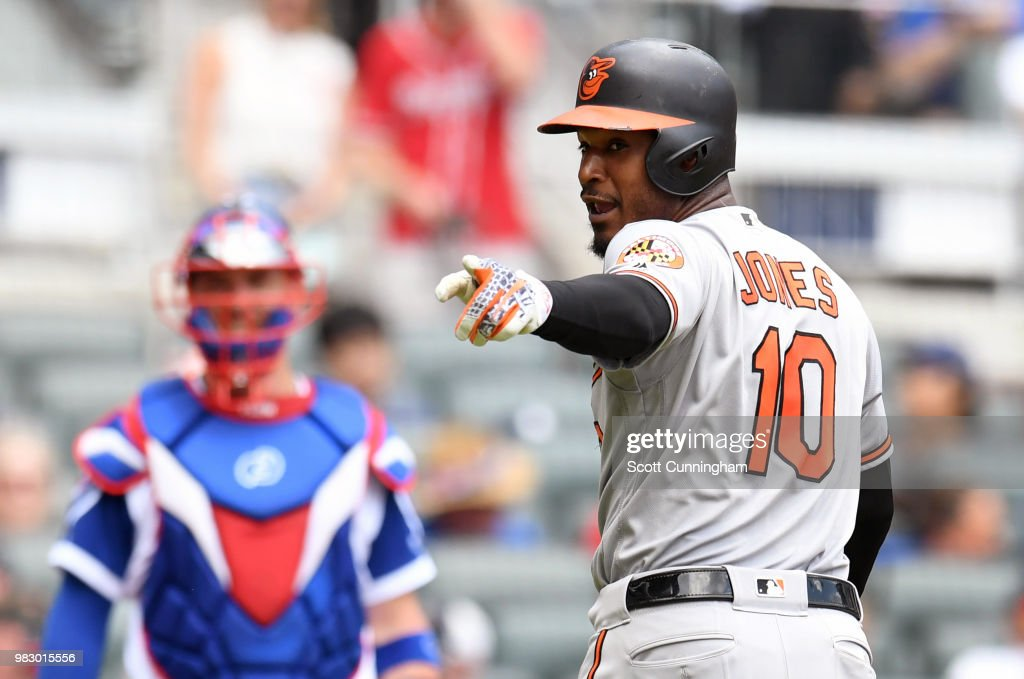 Baltimore Orioles v Atlanta Braves : News Photo