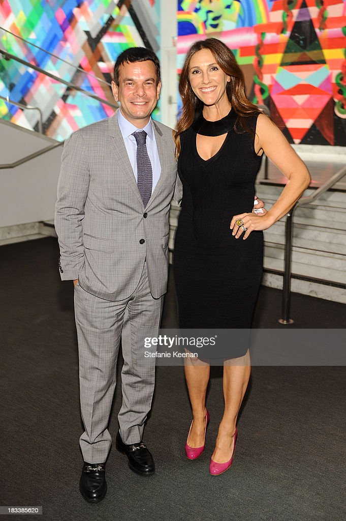 Adam Kanter and Brooke Kanter attend Hammer Museum 11th Annual Gala In The Garden With Generous Support From Bottega Veneta, October 5, 2013, Los Angeles, CA at Hammer Museum on October 5, 2013 in Westwood, California.