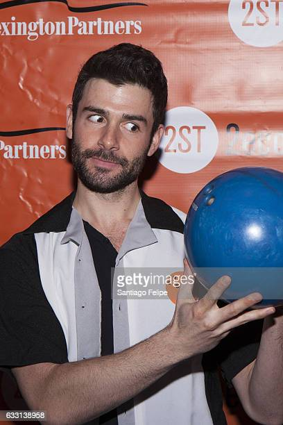 Adam Kantor attends Second Stage Theatre's 30th Annual AllStar Bowling Classic at Lucky Strike on January 30 2017 in New York City
