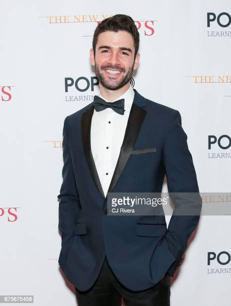Adam Kantor attends the 2017 New York Pops Gala dinner at Mandarin Oriental Hotel on May 1 2017 in New York City