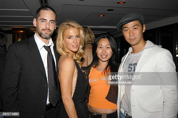 Adam Kaufman Poppy Montgomery Niki Cheng and Shaokao Cheng attend Richard Beckman and Conde Nast after party for Fashion Rocks at Rainbow Room on...