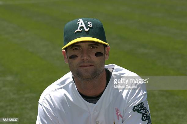 Adam Kennedy of the Oakland Athletics prior to the game against the Toronto Blue Jays at the Oakland Coliseum on May 10 2009 in Oakland California...