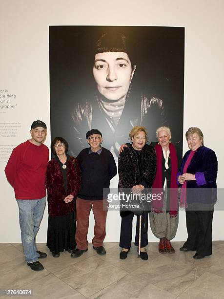 Adam Kops Erica Kops writer Bernard Kops actress director and producer Sylvia Syms writer and actress Hanja Kochansky and Julie Green during the...
