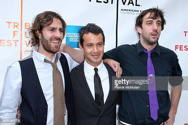 Adam Kurland, Andrew Lauren and Lucas Jansen attend Red Carpet Arrivals for the World Premiere of THIS IS NOT A ROBBERY at the 2008 TRIBECA FILM...