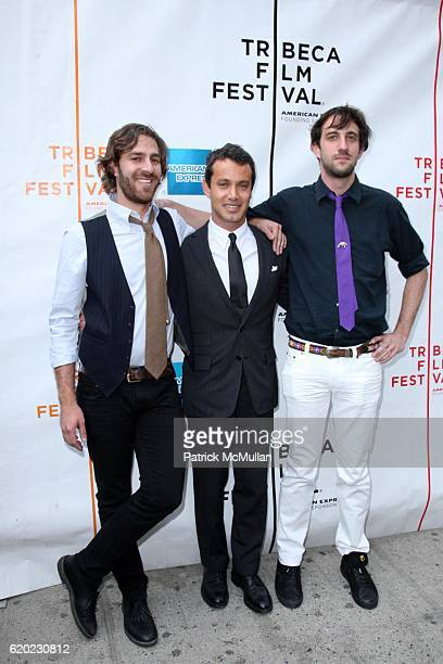 Adam Kurland Andrew Lauren and Lucas Jansen attend Red Carpet Arrivals for the World Premiere of THIS IS NOT A ROBBERY at the 2008 TRIBECA FILM...