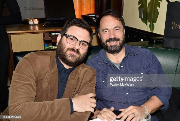 Adam Kurnitz and Alfonso Gonzolas attend The Andy Warhol Museum's Annual NYC Dinner at Indochine on November 12 2018 in New York New York