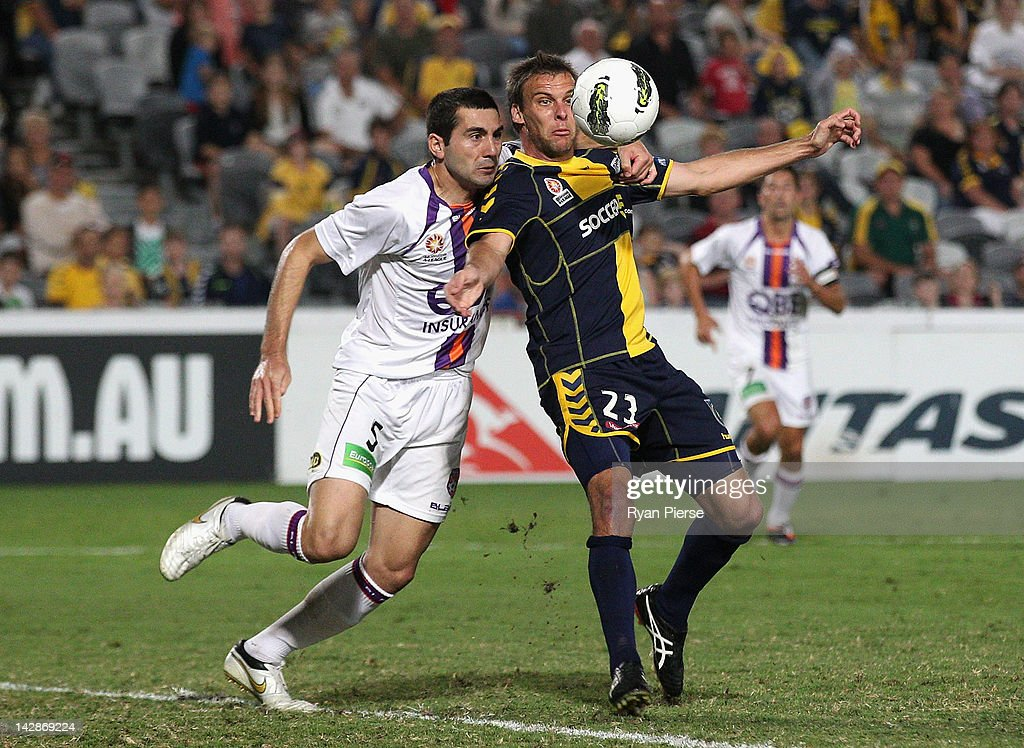 A-League Grand Final Qualifier - Central Coast v Perth