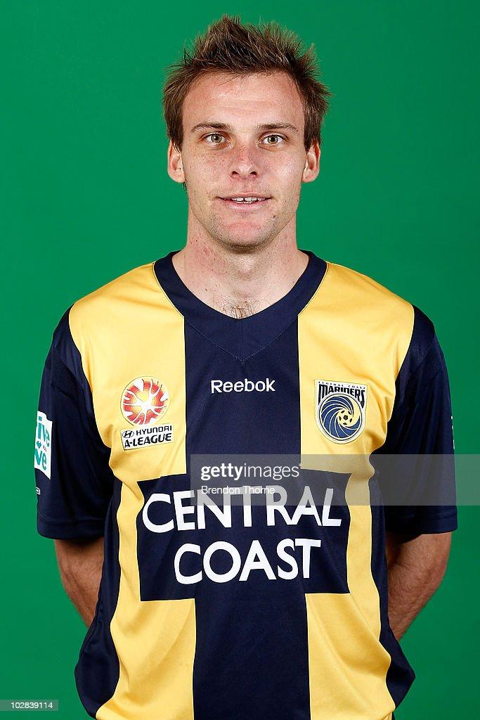 2010/11 A-League Headshots - Central Coast Mariners