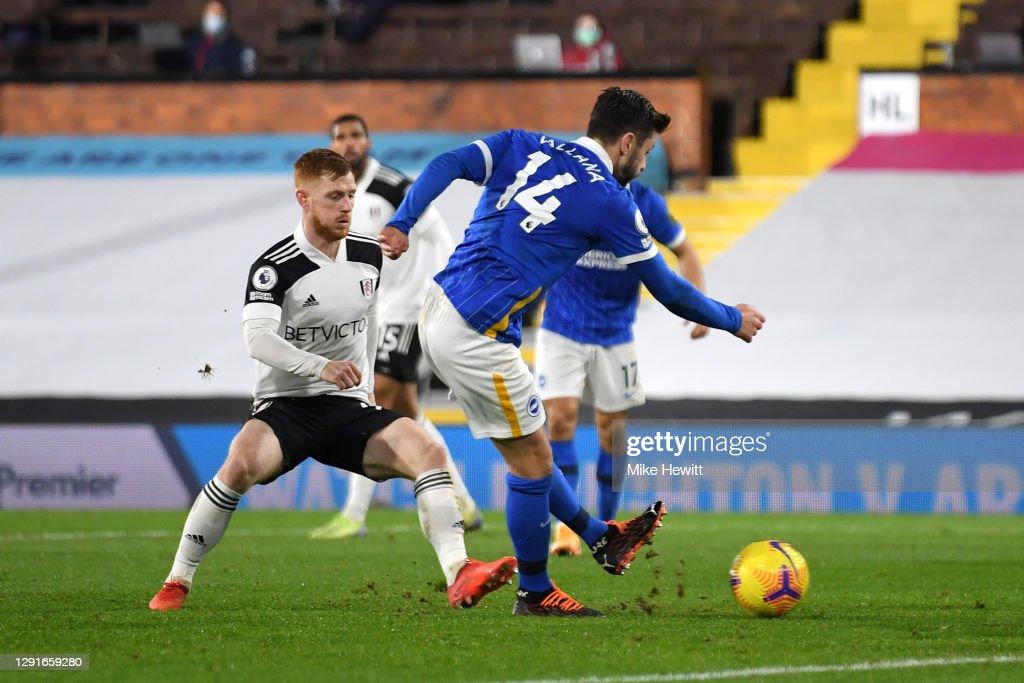 Fulham v Brighton & Hove Albion - Premier League : News Photo