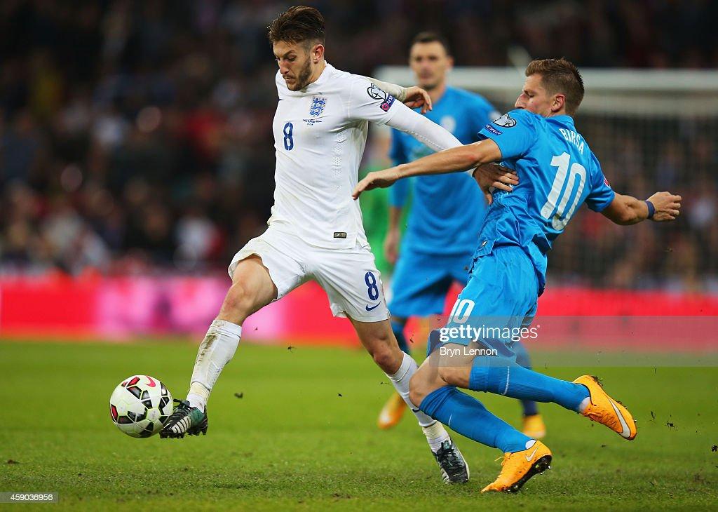 England v Slovenia - EURO 2016 Qualifier : News Photo