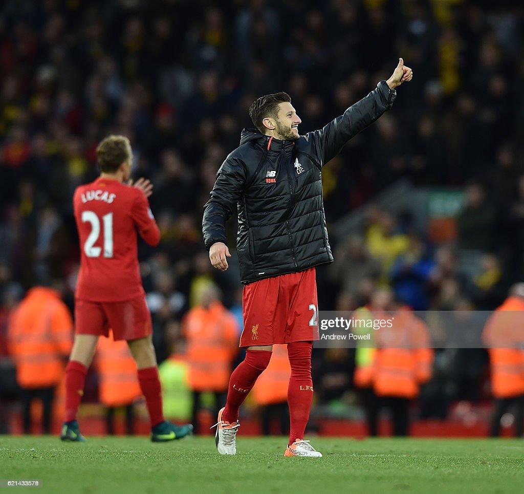 Liverpool v Watford - Premier League : Fotografía de noticias