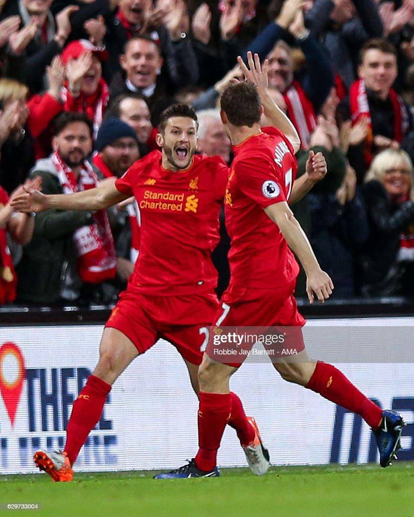 Liverpool v West Ham United - Premier League : ニュース写真