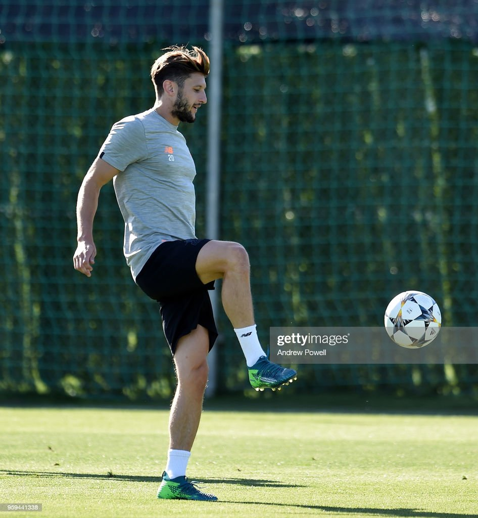 Adam Lallana of Liverpool during a training session at Marbella Football Center on May 16, 2017 in San Pedro De Alcantara, Spain.
