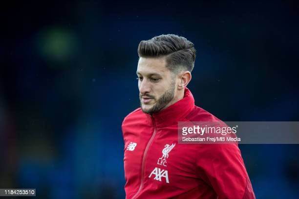 Adam Lallana of Liverpool FC during the Premier League match between Crystal Palace and Liverpool FC at Selhurst Park on November 23 2019 in London...