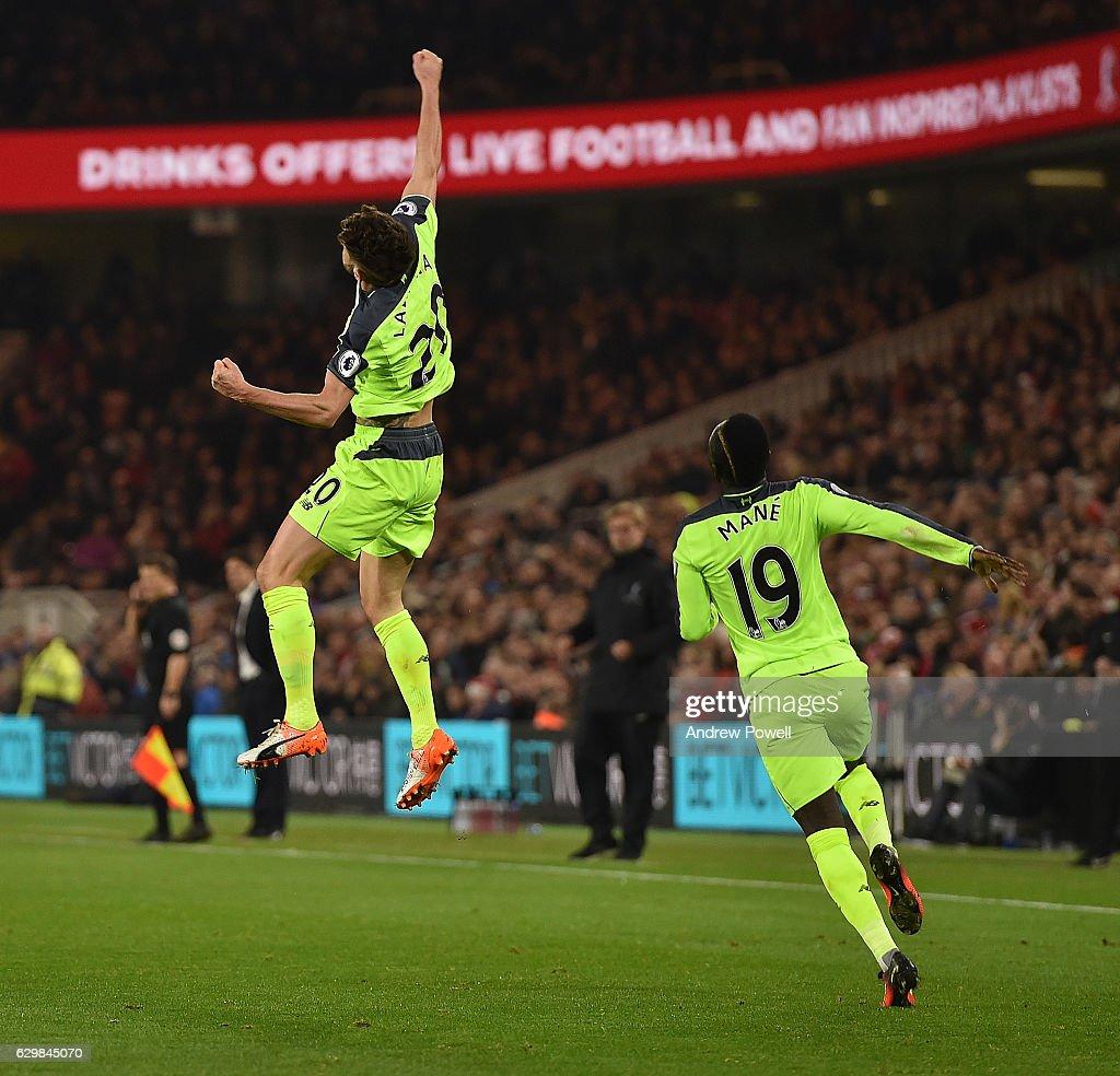 Middlesbrough v Liverpool - Premier League : ニュース写真