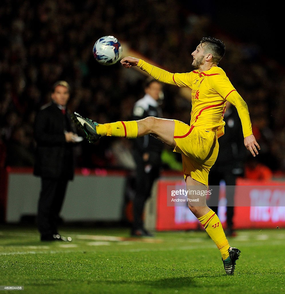 Bournemouth v Liverpool - Capital One Cup Quarter-Final : News Photo