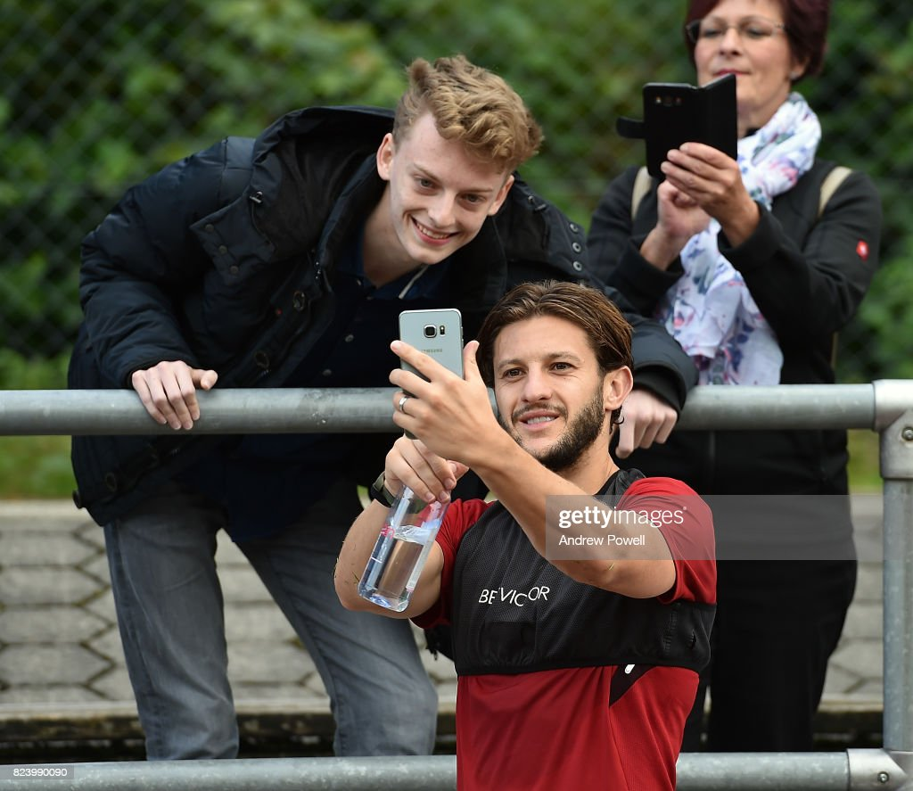 Liverpool FC Training Session in Germany : ニュース写真