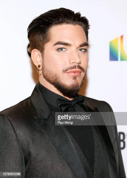 Adam Lambert arrives at the 2018 Kennedy Center Honors at The Kennedy Center on December 02 2018 in Washington DC