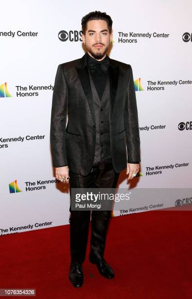 Adam Lambert arrives at the 2018 Kennedy Center Honors at The Kennedy Center on December 02 2018 in Washington DC