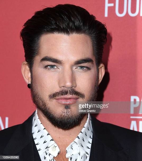 Adam Lambert arrives at the SAGAFTRA Foundation's 3rd Annual Patron Of The Artists Awards at Wallis Annenberg Center for the Performing Arts on...