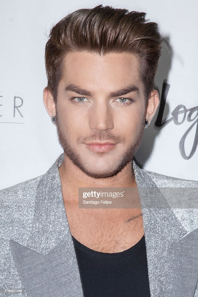 Adam Lambert attends Logo TV's 'Trailblazers' at the Cathedral of St. John the Divine on June 25, 2015 in New York City.
