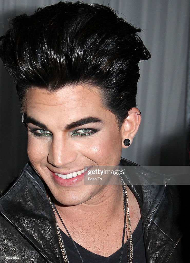 Adam Lambert attends Made in LA presents 'Bebe: The After Party' for Los Angeles fashion week spring 2011 at SupperClub Los Angeles on March 17, 2011 in Los Angeles, California.