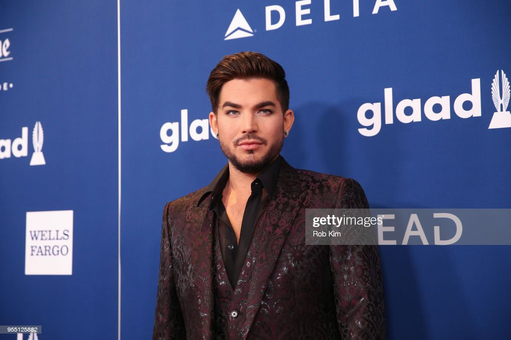 Adam Lambert attends the 29th Annual GLAAD Media Awards at Mercury Ballroom at the New York Hilton on May 5, 2018 in New York City.