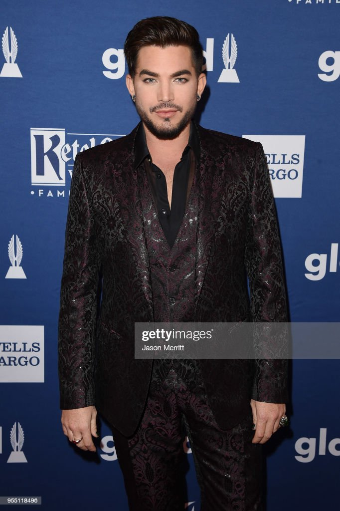 Adam Lambert attends the 29th Annual GLAAD Media Awards at The Hilton Midtown on May 5, 2018 in New York City.