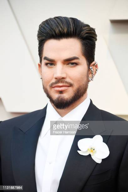 Adam Lambert attends the 91st Annual Academy Awards at Hollywood and Highland on February 24 2019 in Hollywood California