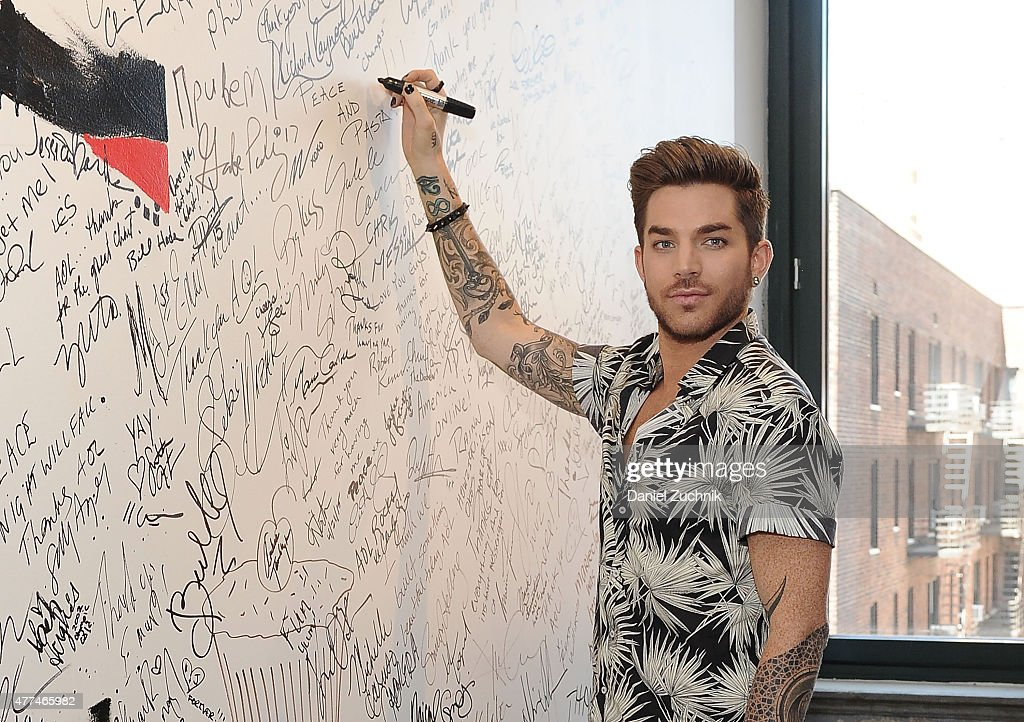 AOL Build Speaker Series Presents Adam Lambert : News Photo