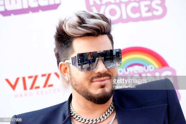 Adam Lambert attends the OUTLOUD: Raising Voices Concert Series at Los Angeles Memorial Coliseum on June 06, 2021 in Los Angeles, California.