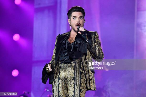 Adam Lambert of Queen performs onstage during the 2019 Global Citizen Festival Power The Movement in Central Park on September 28 2019 in New York...