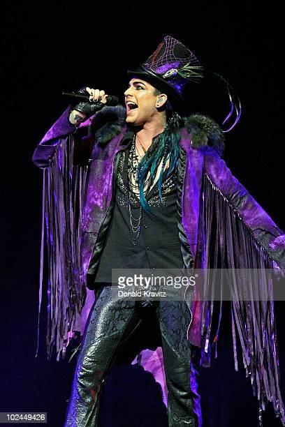 Adam Lambert performs at Borgata Hotel Casino Spa on June 26 2010 in Atlantic City New Jersey
