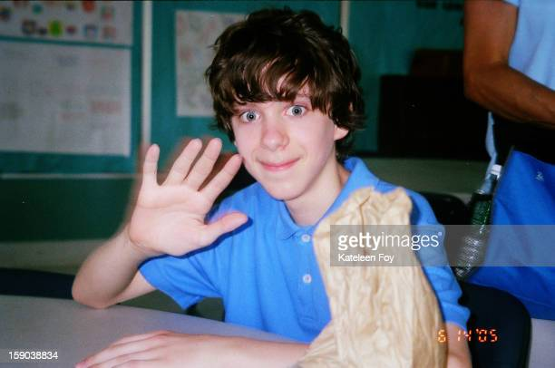 Adam Lanza is pictured in this undated image from 2005 in Newtown Connecticut Twentysix people were shot dead including twenty children after a...
