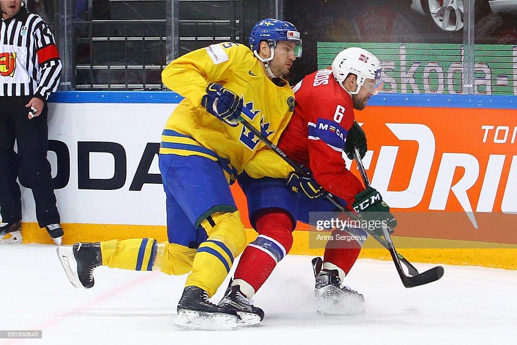Norway v Sweden - 2016 IIHF World Championship Ice Hockey