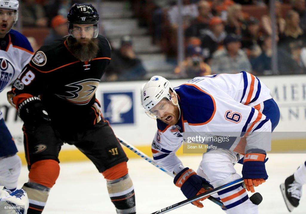Edmonton Oilers v Anaheim Ducks - Game Two