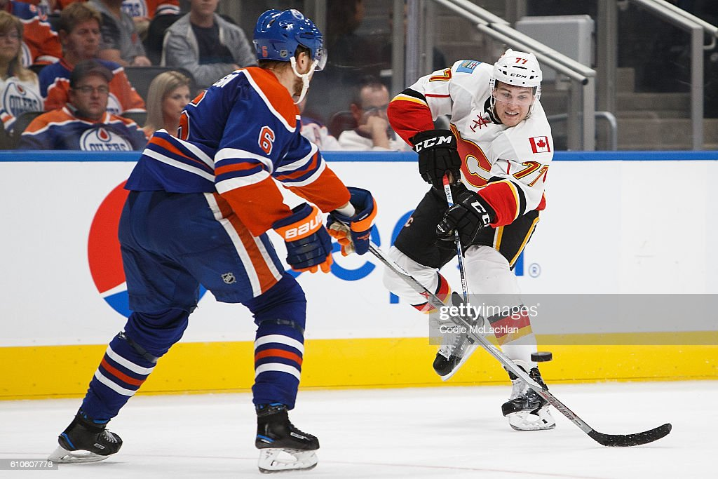 Calgary Flames v Edmonton Oilers : News Photo