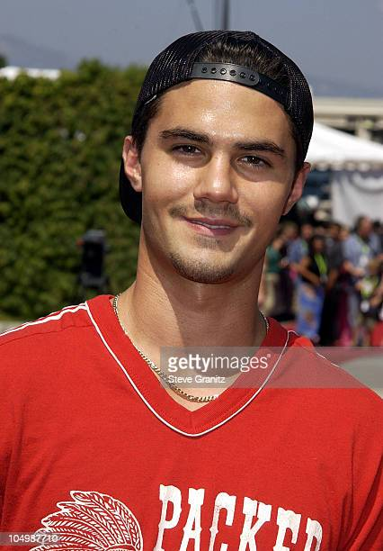 Adam LaVorgna during The 2002 Teen Choice Awards Arrivals at The Universal Amphitheatre in Universal City California United States