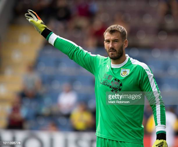 Adam Legzdins of Burnley during the pre season friendly match between Burnley and Espanyol at Turf Moor on August 5 2018 in Burnley England Photo by...